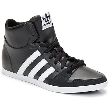 Shoes Men Hi top trainers adidas Originals ADILAGO MID Black / White
