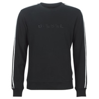 Clothing Men sweaters Diesel WILLY Black