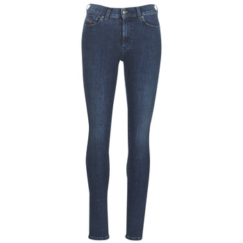 Clothing Women Slim jeans Diesel D ROISIN Blue