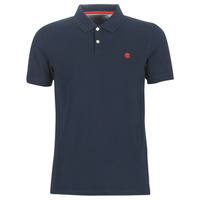 Clothing Men short-sleeved polo shirts Timberland SS MR Polo Slim DARK SAPPHIRE Marine