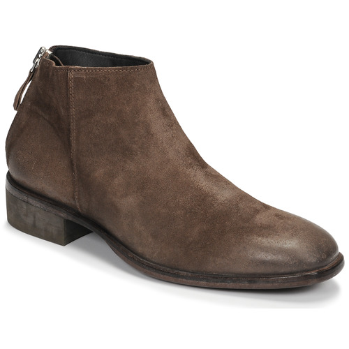Shoes Men Mid boots Moma BEAT ASH Brown