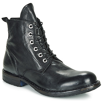 Edwardian Men's Shoes & Boots | 1900, 1910s Moma  CUSNA NERO  mens Mid Boots in Black £341.00 AT vintagedancer.com
