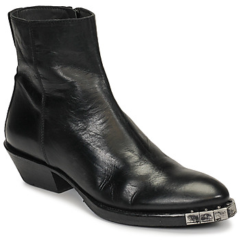 Shoes Women Ankle boots Moma STELLA NERO Black