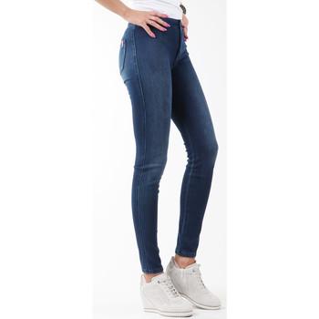Clothing Women Skinny jeans Wrangler Jegging W27JGM85F granatowy
