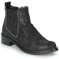 Shoes Women Mid boots Regard ROAL V1 CROSTE SERPENTE PRETO Black