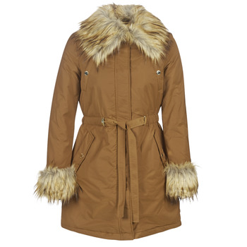 Clothing Women Parkas Marciano NEW GLAM Cognac
