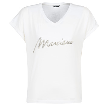 Clothing Women short-sleeved t-shirts Marciano CRYSTAL White