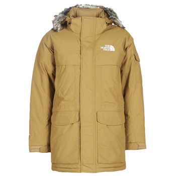 Clothing Men Parkas The North Face MEN'S MC MURDO Camel