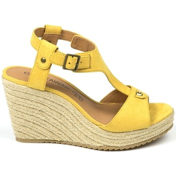 Shoes Women Sandals Chattawak sandales 7-LIVE Jaune Yellow
