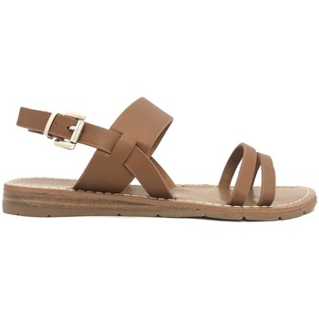 Shoes Women Sandals Chattawak sandales 7-RUBIS Camel Brown