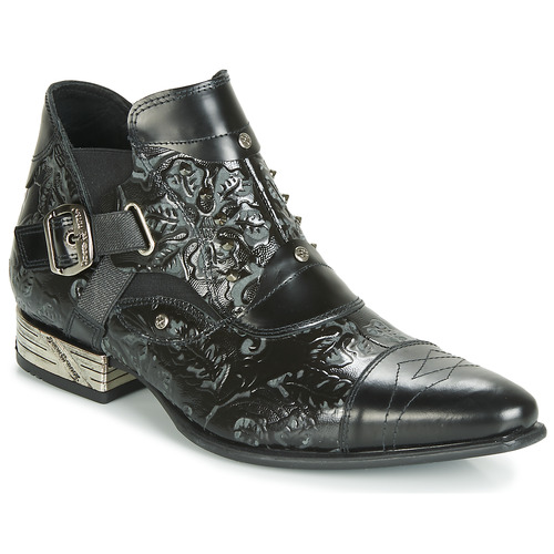 Shoes Men Mid boots New Rock BRAVA Black