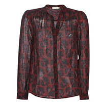 Clothing Women Tops / Blouses See U Soon 9211130 Bordeaux / Black