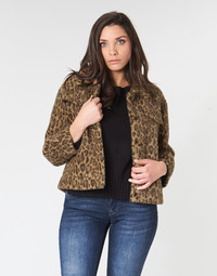 Clothing Women Jackets See U Soon 9262153 Leopard