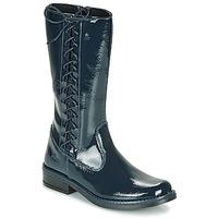 Shoes Girl High boots Citrouille et Compagnie LOUVETTE Blue