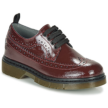 Shoes Girl Derby Shoes Citrouille et Compagnie LOUPIOTTE Bordeaux