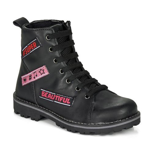 Shoes Girl Mid boots Citrouille et Compagnie LIBIDOU Black