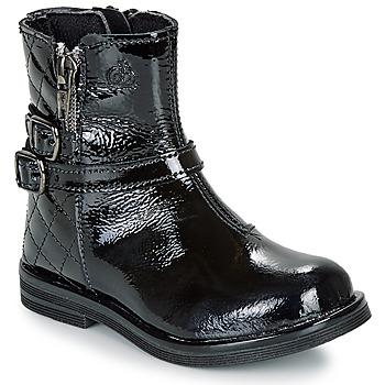 Shoes Girl Mid boots Citrouille et Compagnie LIMIDOU Black