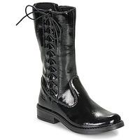 Shoes Girl High boots Citrouille et Compagnie LAMINOTE Black