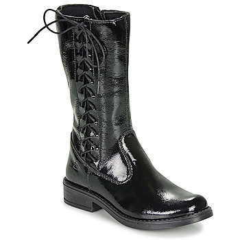 Shoes Girl High boots Citrouille et Compagnie LAMINOTE Black