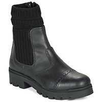 Shoes Girl Mid boots Citrouille et Compagnie LOBINOUTE Black