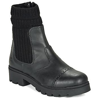 Shoes Girl Mid boots Citrouille et Compagnie LOBINOUTE Black