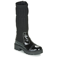 Shoes Girl High boots Citrouille et Compagnie LAPADOU Black