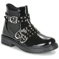 Shoes Girl Mid boots Citrouille et Compagnie LIRONDEL Black
