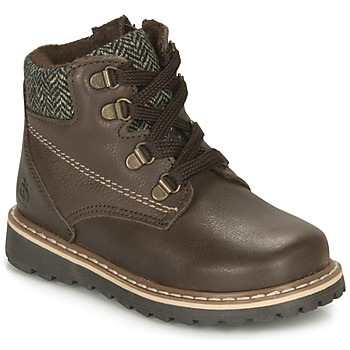 Shoes Boy Mid boots Citrouille et Compagnie LINETTE Brown