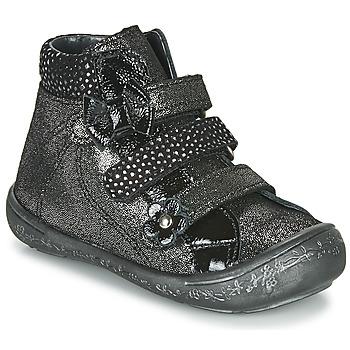Shoes Girl Hi top trainers Citrouille et Compagnie HODIL Black