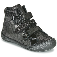 Shoes Girl Hi top trainers Citrouille et Compagnie HODIL Black