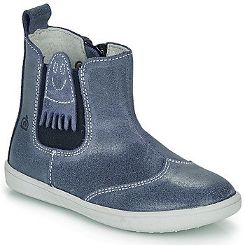 Shoes Boy Mid boots Citrouille et Compagnie LESKIMO Blue