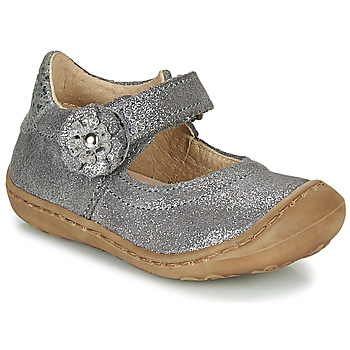 Shoes Girl Flat shoes Citrouille et Compagnie LASKIMA Grey