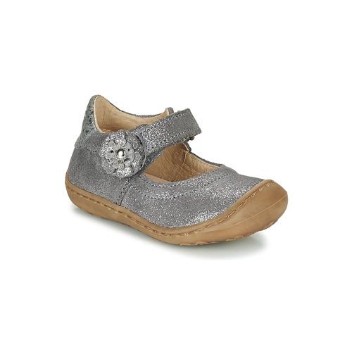 Shoes Girl Flat shoes Citrouille et Compagnie LASKIMA Grey