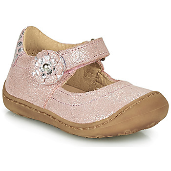 Shoes Girl Flat shoes Citrouille et Compagnie LASKIMA Pink