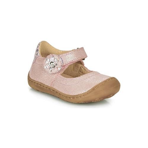 Shoes Girl Flat shoes Citrouille et Compagnie LASKIMA Pink