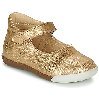 Shoes Girl Flat shoes Citrouille et Compagnie LAKALA Gold