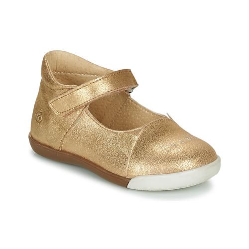 Shoes Girl Flat shoes Citrouille et Compagnie LAKALA Gold