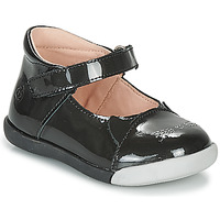 Shoes Girl Flat shoes Citrouille et Compagnie LAKALA Black