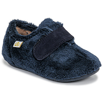 Shoes Boy Slippers Citrouille et Compagnie LAFINOU Marine