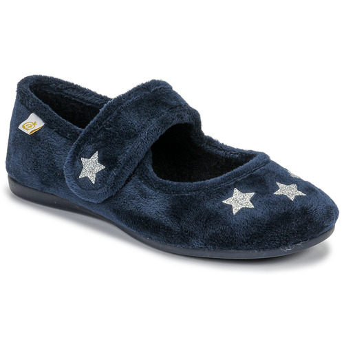 Shoes Girl Slippers Citrouille et Compagnie LAFIFOU Marine