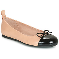 Shoes Girl Flat shoes Citrouille et Compagnie LIOGE Nude / Black