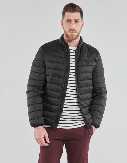Clothing Men Duffel coats Oxbow L2JUNCO Black