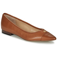 Shoes Women Flat shoes Lauren Ralph Lauren HALENA II Camel