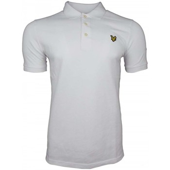 Clothing Men Short-sleeved polo shirts Lyle And Scott Vintage SS Pique Polo Shirt white