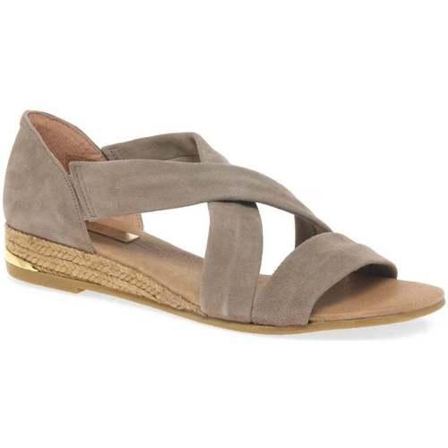 Shoes Women Sandals Pinaz Zara Ladies Espadrilles BEIGE