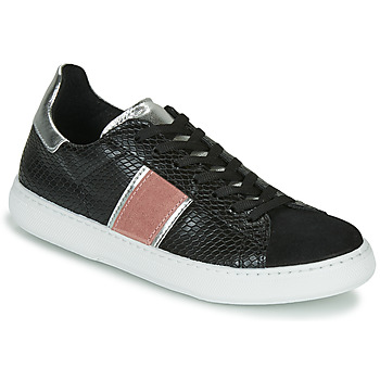 Shoes Women Low top trainers Yurban LAMBONE Black