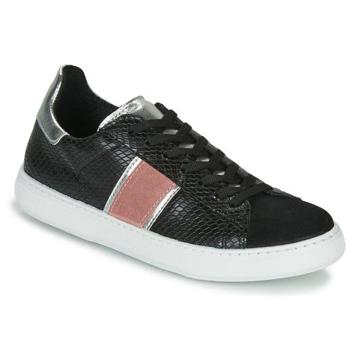 Shoes Women Low top trainers Yurban LAMBONE Black