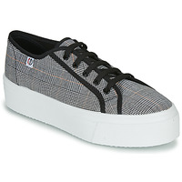 Shoes Women Low top trainers Yurban SUPERTELA Black / White