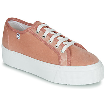 Shoes Women Low top trainers Yurban SUPERTELA Pink