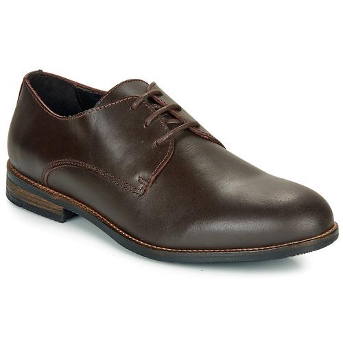 Shoes Men Derby Shoes So Size TURBON Brown